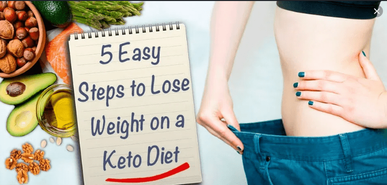 weight lose by keto diet